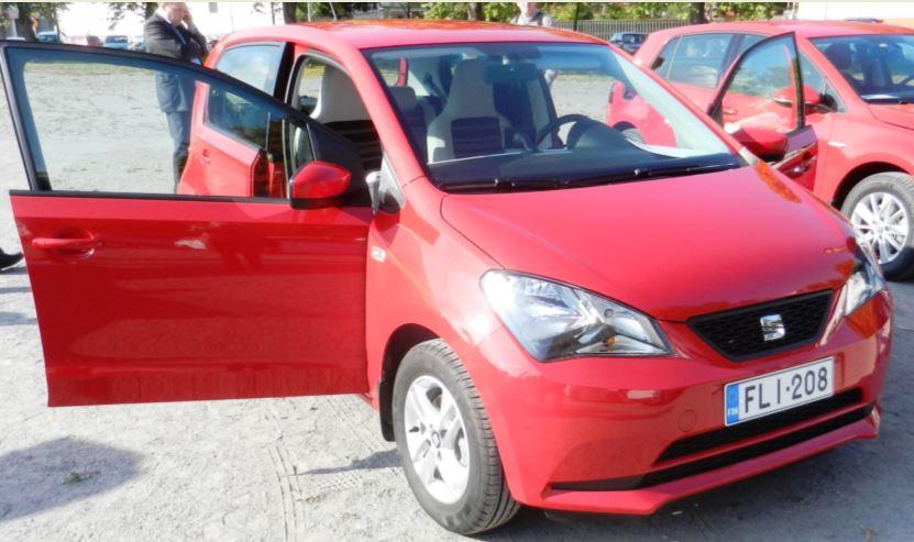 Suomen ekoauto 2015 SEAT Mii Ecofuel